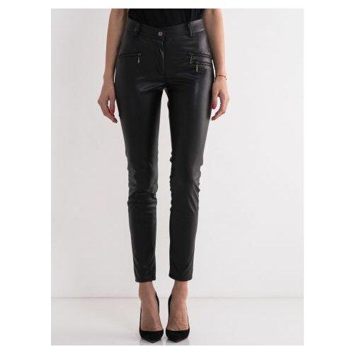 Legendww crne pantalone od veštacke koze 2427-9074-06 Slike
