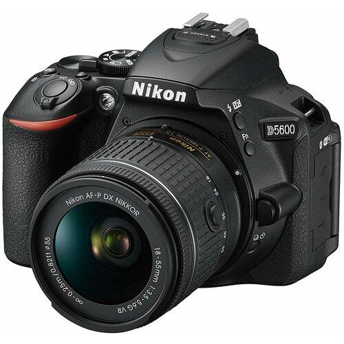 Nikon D5600 crni SET 18-55mm VR AF-P + 70-300mm AF-P VR digitalni fotoaparat Slike