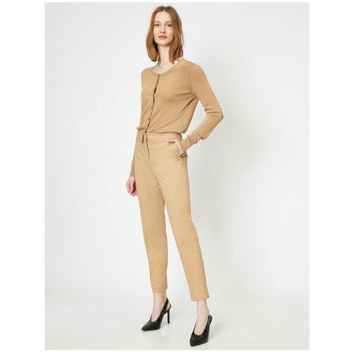 Koton ženske krem slim fit hlače  Cene