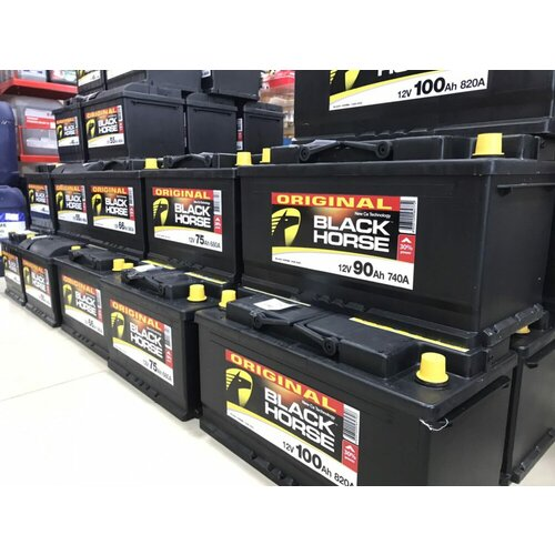Black Horse 12V 60Ah +D akumulator Slike