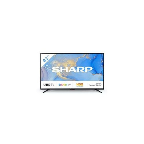 Sharp 43BJ6EF2NB Smart 4K Ultra HD televizor Slike