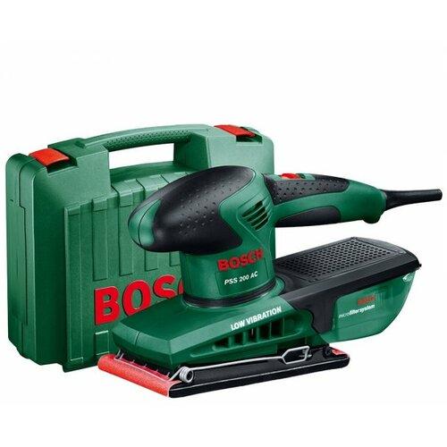Bosch vibraciona PSS 200 AC, 200W/24000/min/92x182 mm brusilica Slike