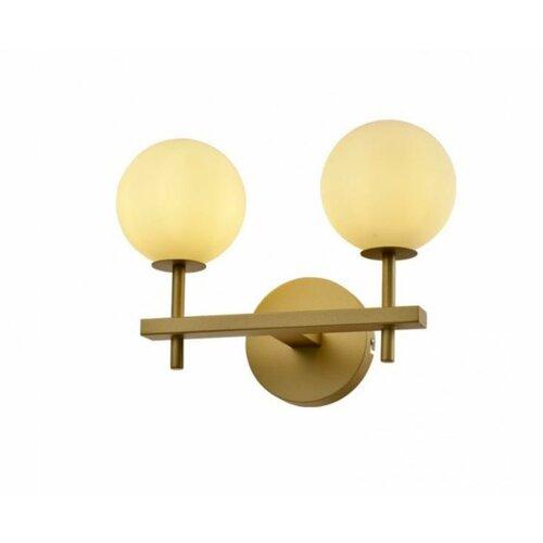 Vesta 431 zidna lampa 2*G9 mesing/zlato Slike