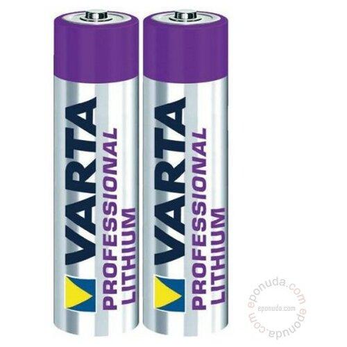 Varta Professional litijum 6103 AAA bli2 baterija za digitalni fotoaparat Slike
