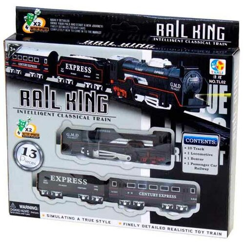 Best Luck igračka voz Rail King Slike