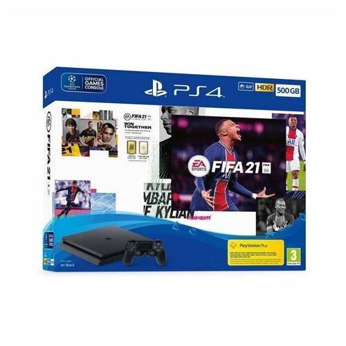 Sony PlayStation 4 Slim PS4 500GB konzola + FIFA 21 Slike