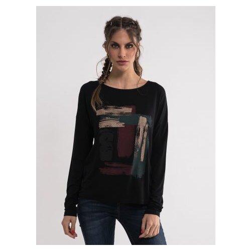 Legendww ženska crna majica sa printom 7757-9770-06 Slike