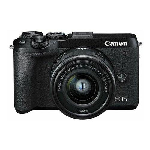 Canon EOS M6 Mark II + Objektiv M15-45 digitalni fotoaparat Slike