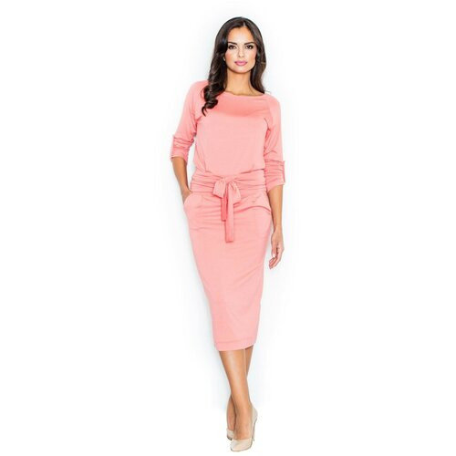 Figl Ženska haljina M246 Koraljno smeđa | pink  Cene