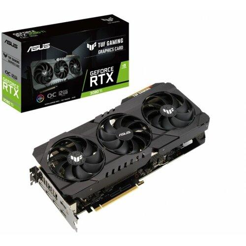 Asus nVidia GeForce RTX 3080 TI 12GB 384bit TUF RTX3080TI O12G GAMING grafička kartica Slike