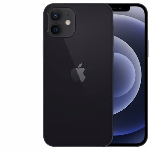 Apple iPhone 12 - 64GB Black MGJ53SE/A mobilni telefon Slike
