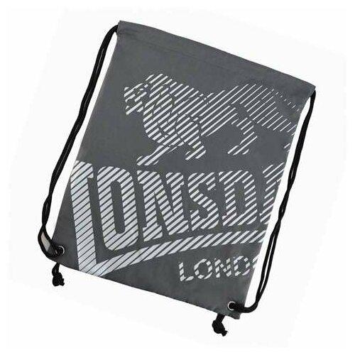 Lonsdale unisex torba LL Gym Sack 00 Charcoal - 702182-92  Cene