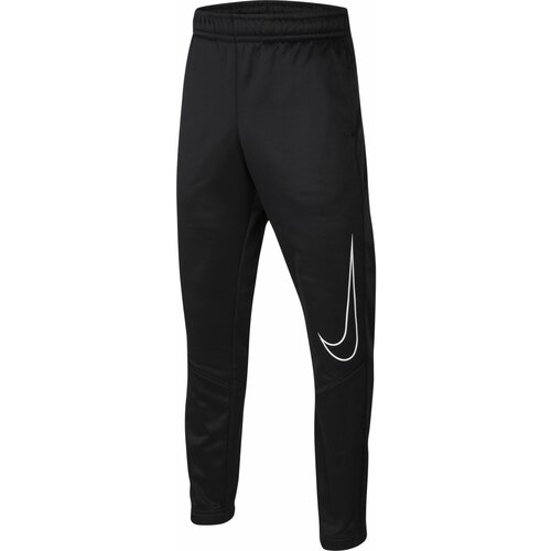 Nike donji deo trenerke za dečake THERMA GRAPHIC TAPERED TRAINING PANTS crna CU9133 Slike