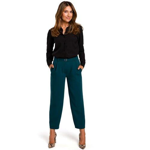 Stylove Ženske pantalone S187 crne plava  Cene