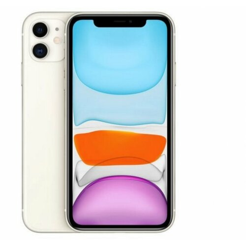 Apple iPhone 11 64GB White MWLU2SE/A mobilni telefon Slike