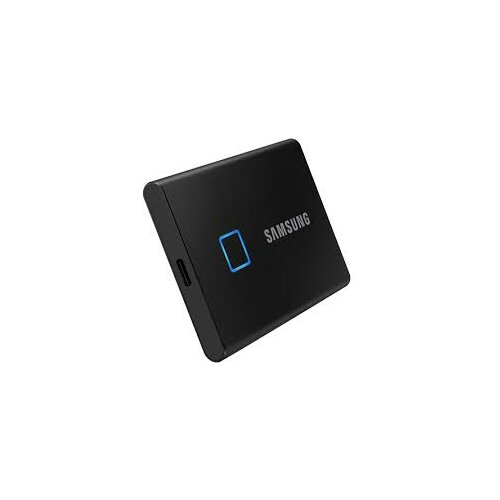Samsung 500GB SSD Portable T7 Touch Black MU-PC500K/WW Slike
