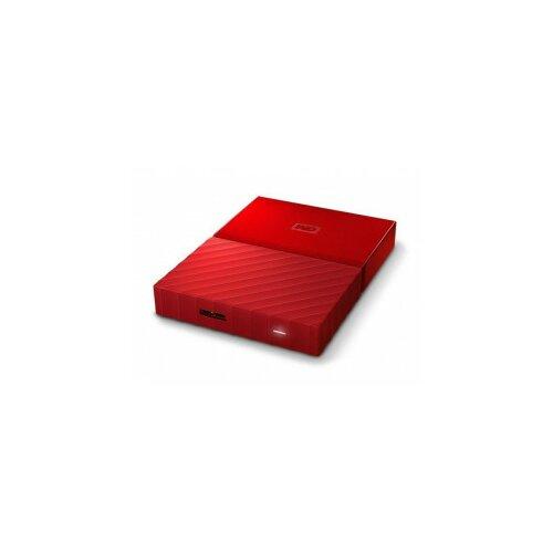 Western Digital eksterni hard disk My Passport red 3TB Slike