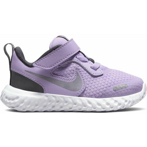 Nike patike za trčanje za devojčice REVOLUTION 5 (TDV) ljubičasta BQ5673  Cene