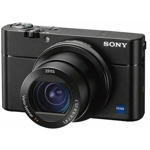 Sony DSCRX100M5A crni digitalni fotoaparat Slike