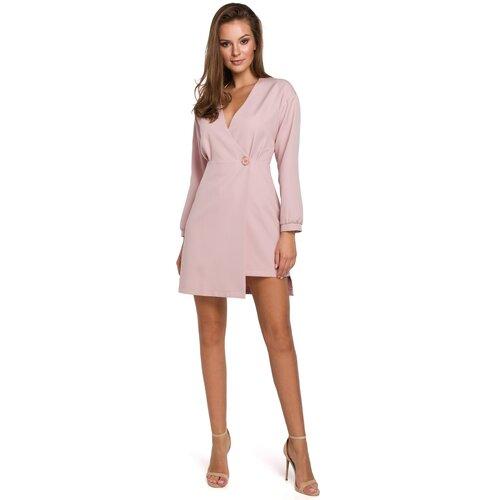Makover Ženska haljina K034 roza  Cene