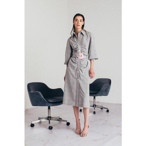 Mona maxi karirana haljina 54109501-1  Cene