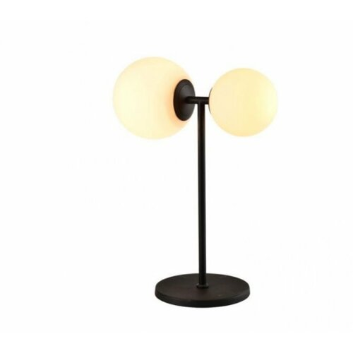 Vesta 432 stona lampa 1*E27/1*E14 mat crna Slike