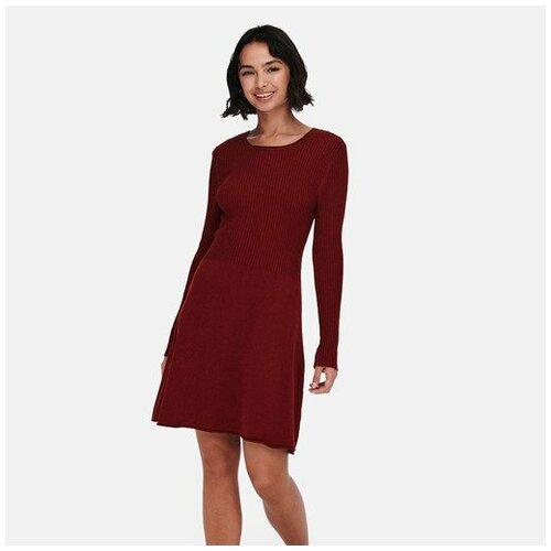 Only ženska haljina 15185761 bordo  Cene