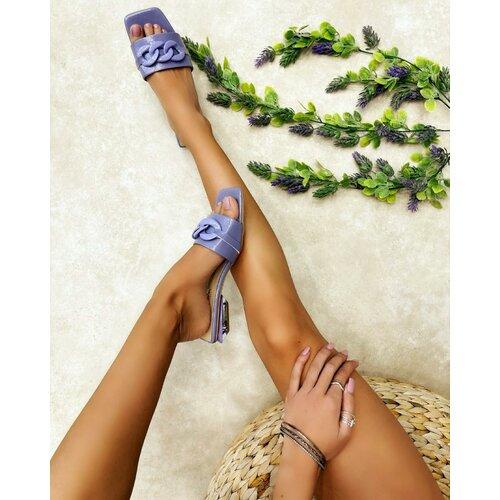 Hop Hop ženske saten sandale sa brošom - crvene  Cene