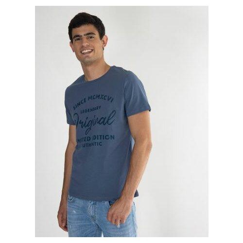 Legendww majica kratkih rukava u denim boji 6449-9368-17 Slike