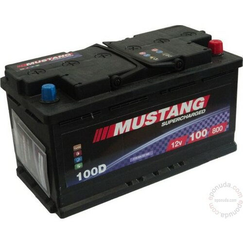 Mustang 12 V 100 Ah D+ akumulator Slike