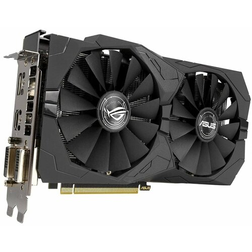 Asus AMD RX 570 8GB DDR5 256bit ROG-STRIX-RX570-O8G-GAMING grafička kartica Slike