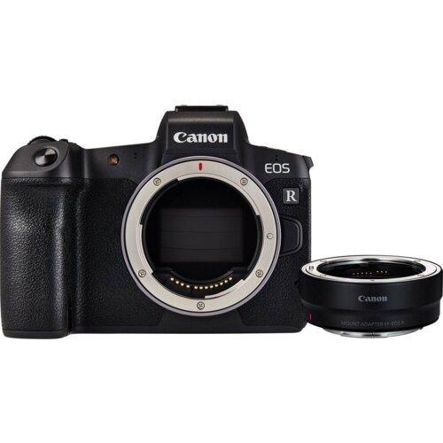 Canon EOS R body + adapter EF-EOS R digitalni fotoaparat Slike