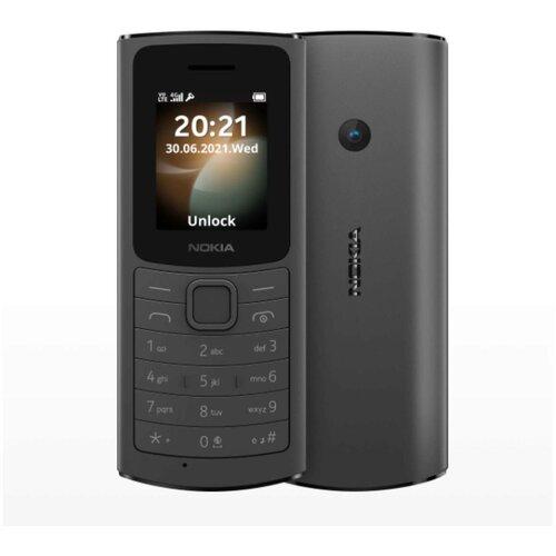 Nokia 110 4G crni mobilni telefon Slike