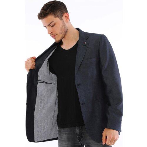 dewberry Muška jakna 7234 crna siva  Cene