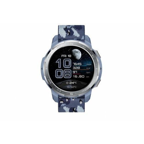 Honor Watch GS Pro Camo Blue pametni sat Slike
