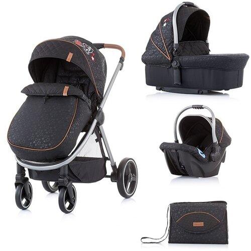 Chipolino kolica za bebe 3u1 Prema - Onyx Slike