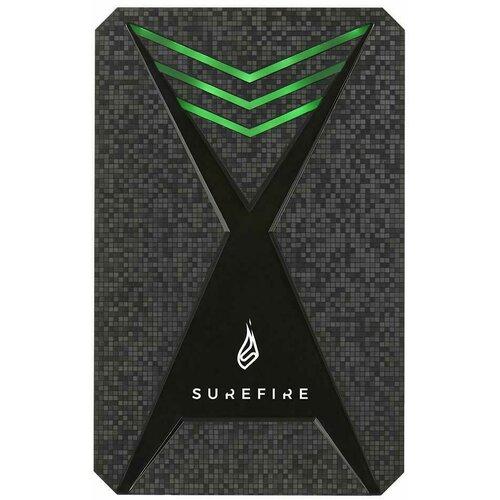 Surefire 512GB Bunker Gaming eksterni SSD disk crni Slike