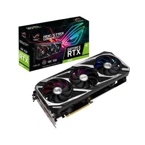 Asus nVidia GeForce RTX 3060 12GB 192bit ROG-STRIX-RTX3060-O12G-V2-GAMING grafička kartica Slike