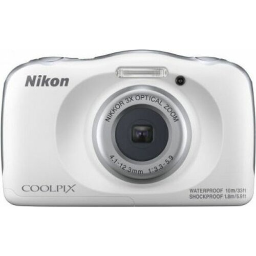 Nikon COOLPIX W150 vodootporni beli digitalni fotoaparat Slike