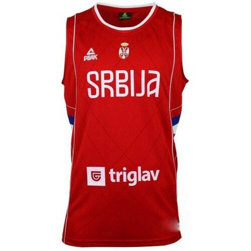 Peak TS muški dres M SRBIJA CRVENI FIBA KSS1601-F-RED  Cene