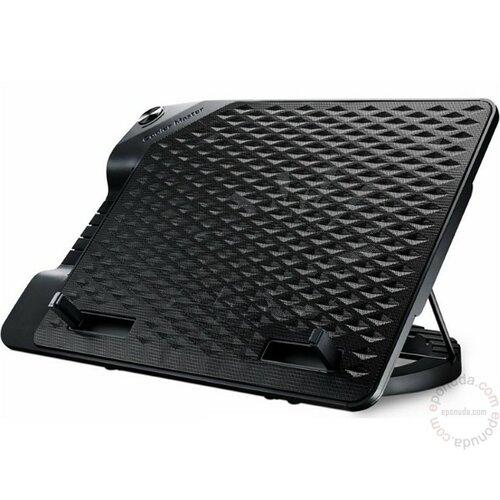 Cooler Master NotePal ERGOSTAND III R9-NBS-E32K-GP laptop hladnjak Slike