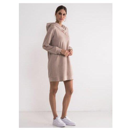 Legendww ženska duks haljina u puder boji 5657-9105-09  Cene