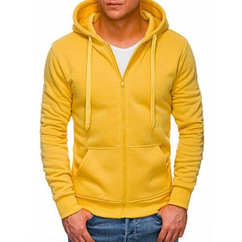 Edoti Men's hoodie B895 narandžasta  Cene