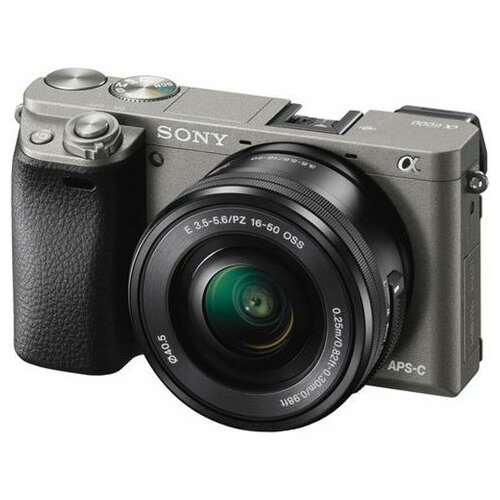 Sony ILCE6000LH.CEC MILC fotoaparat grafitno sivi+objektiv 16-50mm f/3.5-5.6 Slike