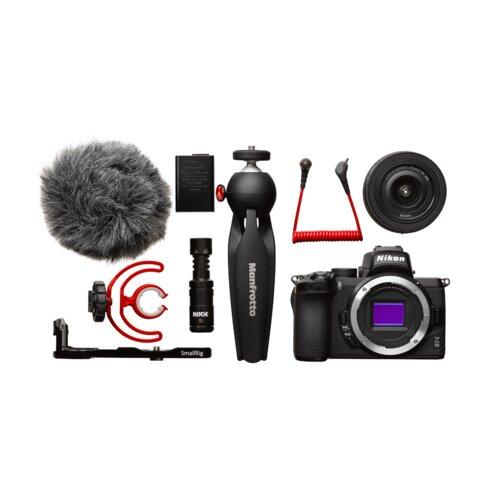 Nikon Z50 Vlogger kit digitalni fotoaparat Slike