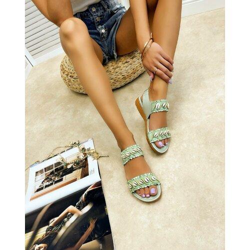 Hop Hop 16267 - ženske sandale lujain - mint  Cene