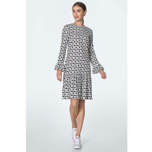 Nife Ženska haljina S153 crna | siva  Cene