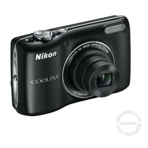 Nikon Coolpix L26 Black digitalni fotoaparat Slike