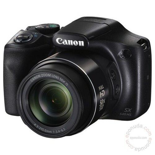Canon PowerShot SX540 HS black digitalni fotoaparat Slike