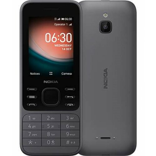 Nokia 6300 4G 4GB/32GB DS Charcoal mobilni telefon Slike